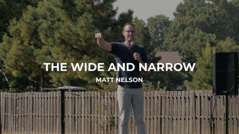 Matt Nelson - The Wide & Narrow Image